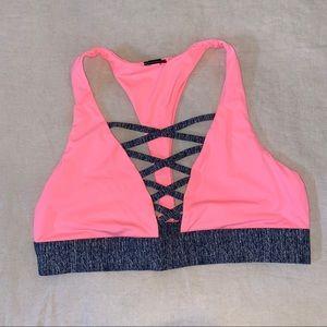 Victoria's Secret Pink sports bra sz L